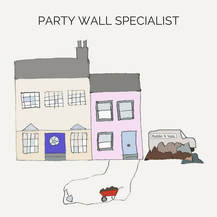 illustration picture of link to party wall section of jdbcs website
